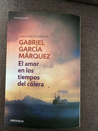 García Márquez. El amor en los tiempos del cólera