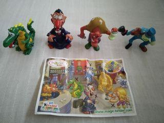 Figuras huevo Kinder - Monster Hotel