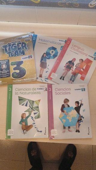 libros de texto 3o primaria