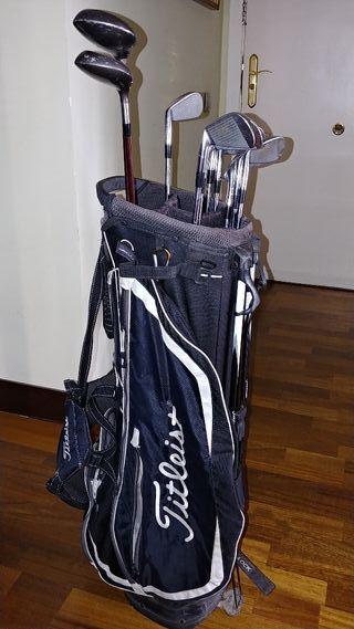 bolsa y palos de golf hombre Mizuno MP60