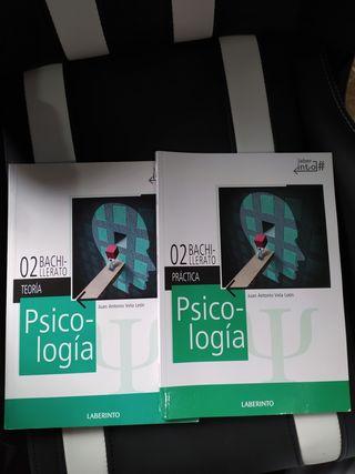Libro de texto, 2 Bachillerato, psicología.