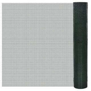 Red de Alambre Cuadrada de 1X10 M Cubierta de Pvc