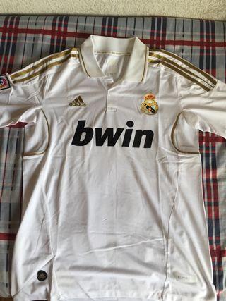 Camiseta blanca madrid talla S