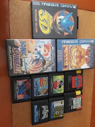 juegos mega drive