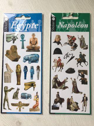 Stikers Museo de Louvre. Napoleón y Egipto