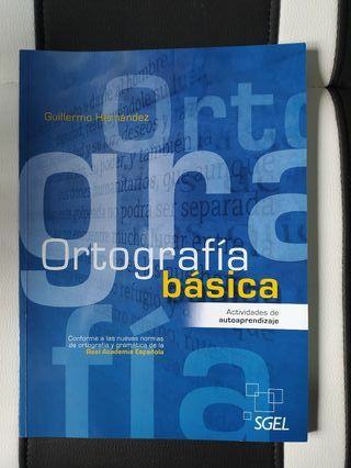 Libro de Ortografía básica.