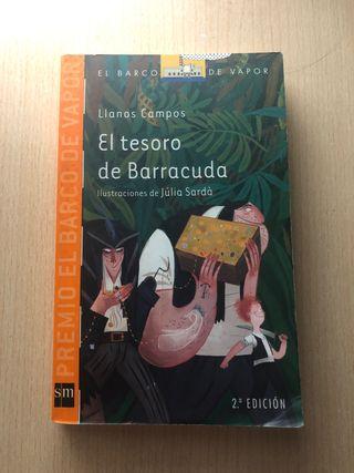"""Libro """"El tesoro de Barracuda"""""""