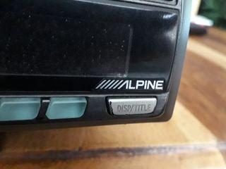radio extraible Alpine