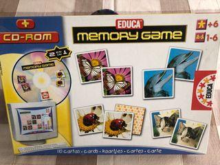 """Juego de mesa """"Memory Game"""""""