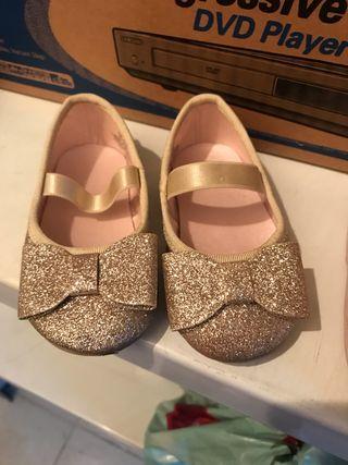 Zapatos Zara baby talla 18-19