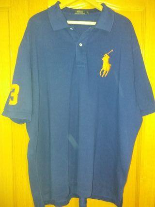 Polo Ralph Lauren azul de segunda mano en Leganés en WALLAPOP