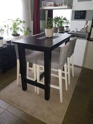 Mesa + 4 taburetes