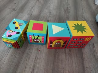 cubo torre aprendizaje