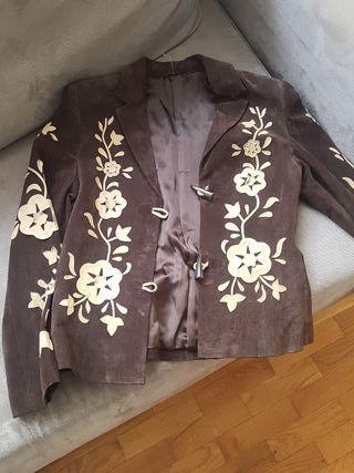 chaqueta de ante nueva