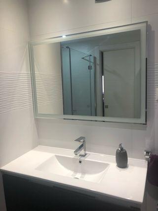 Espejo baño con luz led 100x70