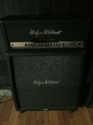 amplificador de guitarra huges kettner cabezal y p