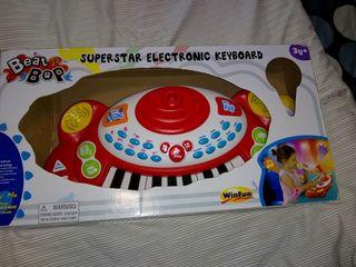 órgano electrónico musical para niñ@s