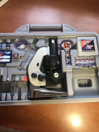 Kit ciencia para niños, Microscopio