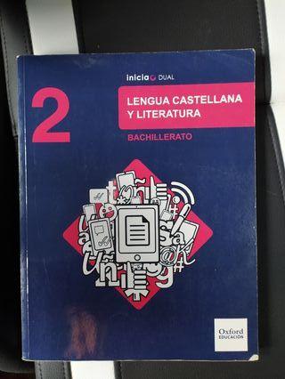 Libro de texto, 2 Bachillerato, Lengua.