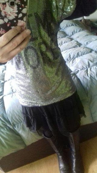 Niki manga larga xl y falda m