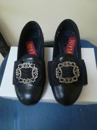 zapato torrenti hebilla plata