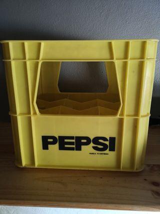 Caja antigua de Pepsi-Cola