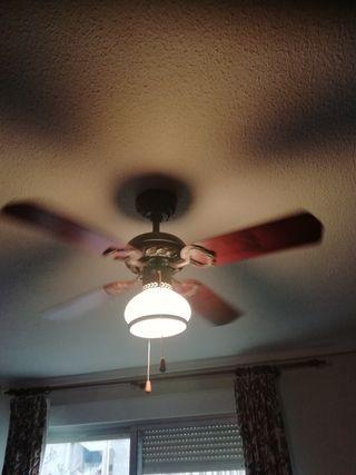 Ventilador con lámpara