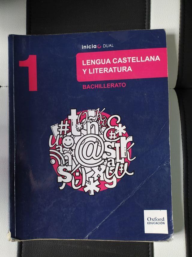 Libro de texto, 1 Bachillerato, Lengua.