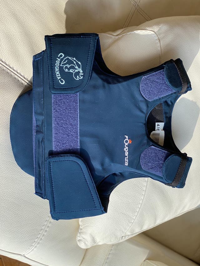 Gilet protection equitation Foufanza enfant