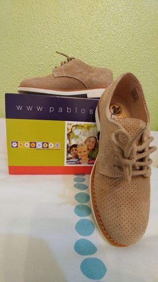 Zapatos niño Pablosky de comunión / vestir