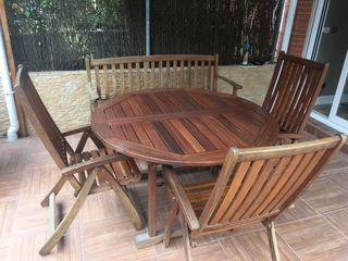 Conjunto muebles jardin