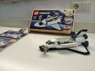 Lego creator 3 en 1, Lanzadera espacial (31066).