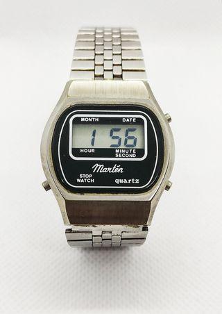 Reloj Digital vintage Martén (1978)