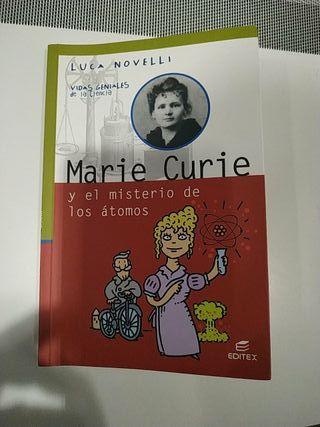 Libro Marie Curie y el misterio de los átomos