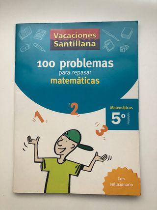 100 problemas para repasar matemáticas