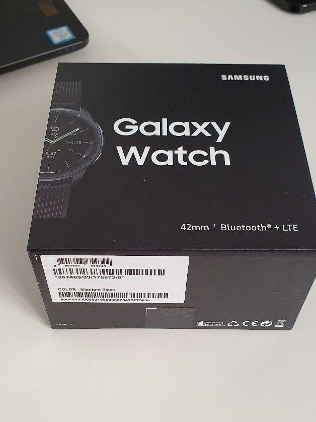 Samsung Galaxy Watch - Reloj inteligente LTE (42 m