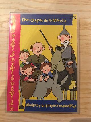 Pelicula las 3 mellizas, Don quijote de la mancha