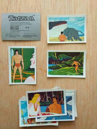 Cromos Tarzan Panrico 1979