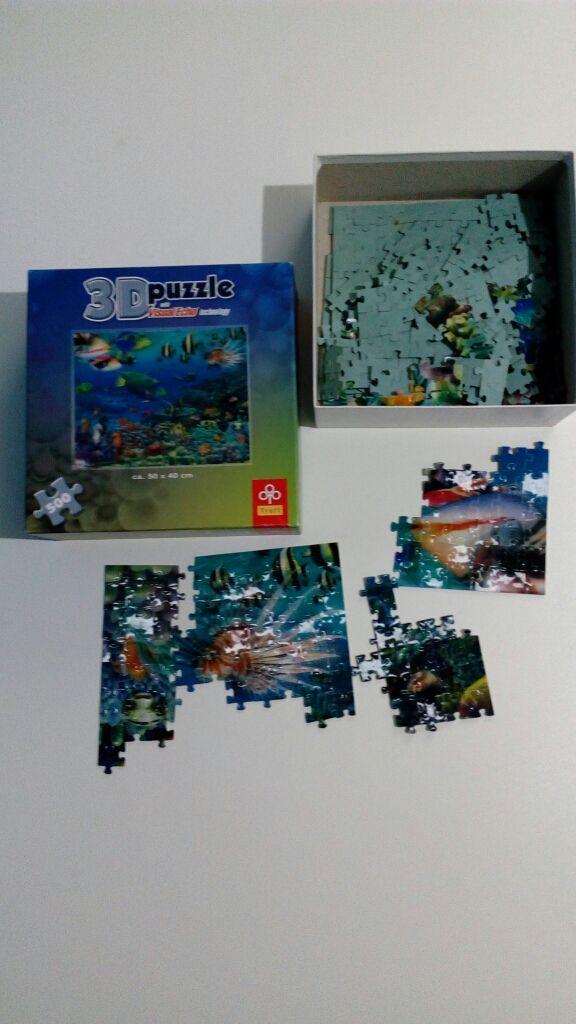 Puzzle 3D 500 piezas