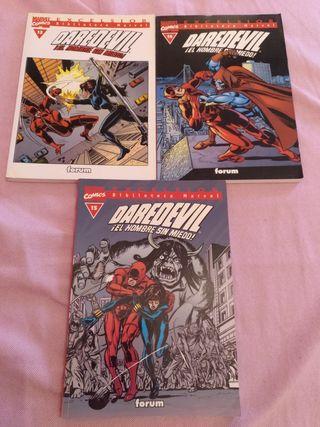 Cómics Biblio Marvel Daredevil 13,14,15