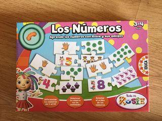 Puzzle los números 3-4 años