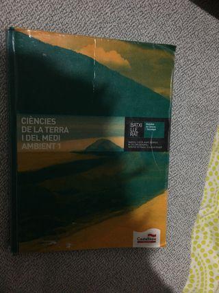 Libro Ciències de la terra i medi ambient 1.