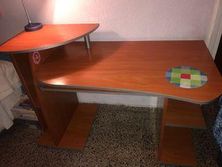 Mesa escritorio ordenador bandeja extraible