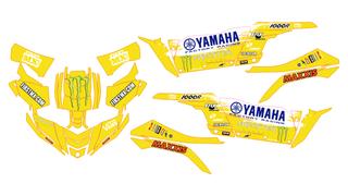 OFERTA Kit de adhesivos YAMAHA YXZ 1000