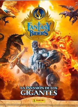 Cambiamos cartas Fantasy Riders serie 2