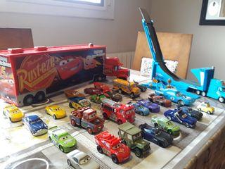 Gran coleccion de coches pelicula Cars
