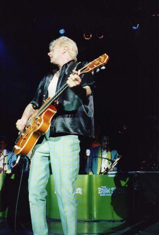 Set fotos Brian Setzer Orchestra directo