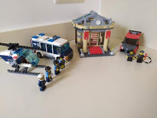 Lego City Asalto al museo (ref. 60008) 100% comple
