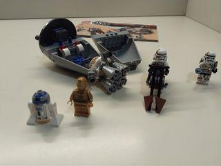 Lego Star Wars 9490 Droid Escape completo