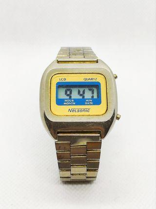 Reloj Digital vintage Nelsonic 1983